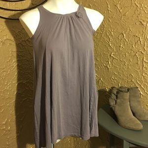 046- Crewcuts gray/Purple...tank w/ pockets